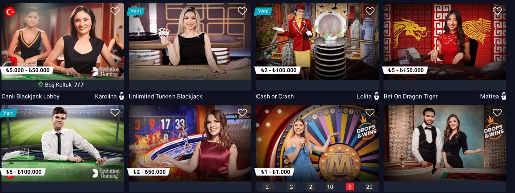 Popüler Casino Siteleri
